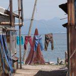 津軽の十三湖とシジミ