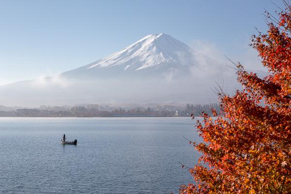 紅葉の富士山 '13